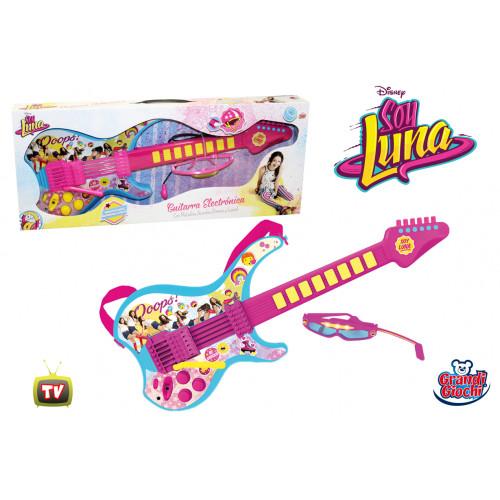 Soy Luna chitarra elettronica con occhiali Grandi Giochi