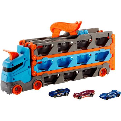 Hot Wheels Camion Trasportatore 2 in 1