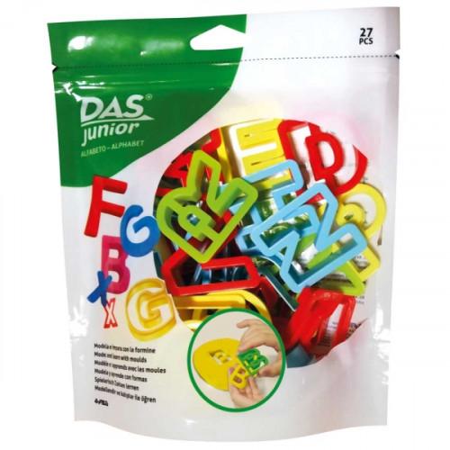 Busta DAS Junior da 27 pezzi con formine e lettere