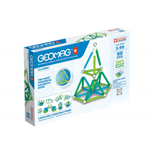 Geomag Classic Green Line 60pz recycled