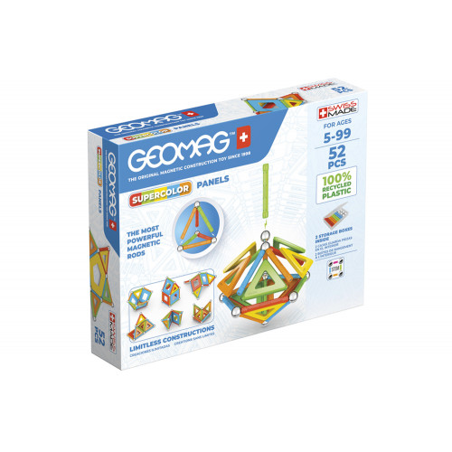 Geomag Supercolor Panels 52pz recycled