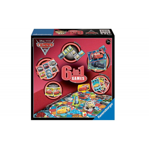 Cars Games 6 in 1