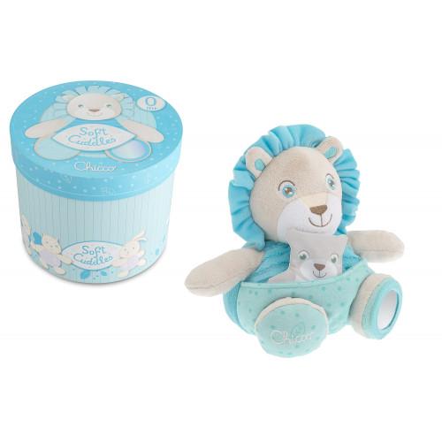 Soft Cuddles Leone Azzurro