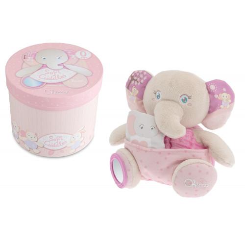 Soft Cuddles Elefante Rosa