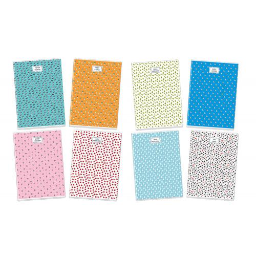 Maxi quaderno 100gr pattern rig.c cf.10
