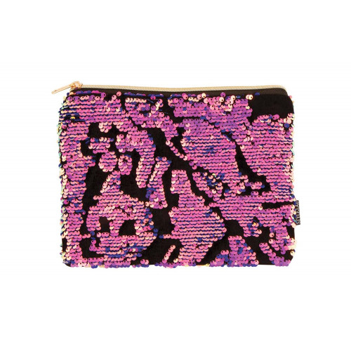 Trousse sequin Pink Fashion Angel
