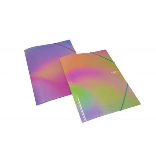 Cartellina Aurora collection con elastico