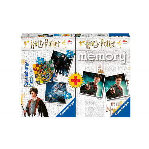 Memory Multipack Harry Potter con 3 puzzle