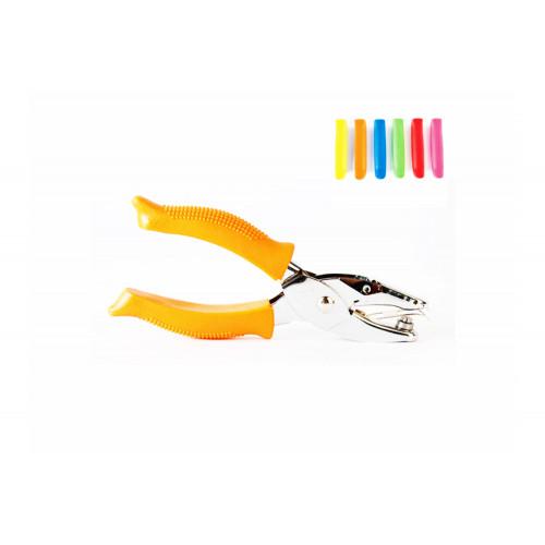 Perforatore 1 foro con manici gommati