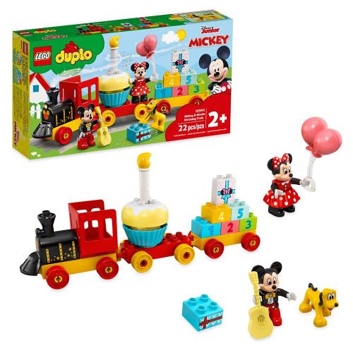 Lego Duplo Il treno del compleanno di Topolino e Minnie
