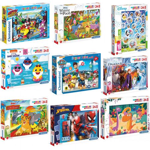 Puzzle Maxi 24 pezzi Clementoni
