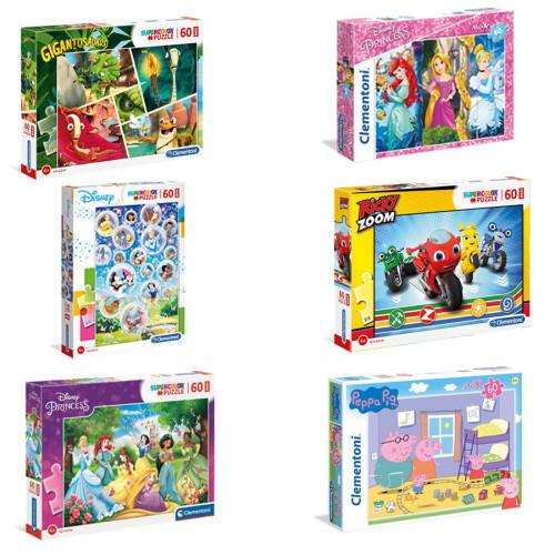 Puzzle Maxi 60 Pezzi Super Color