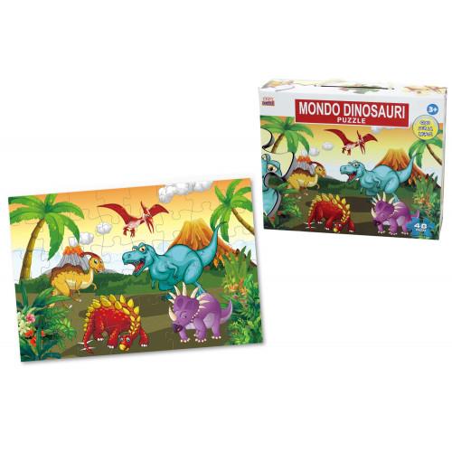 Puzzle 48 Pezzi Dinosauri