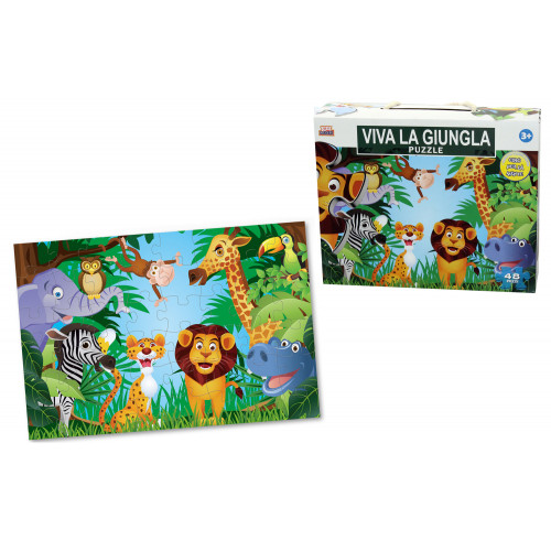 Puzzle Viva la Giungla 48 pezzi