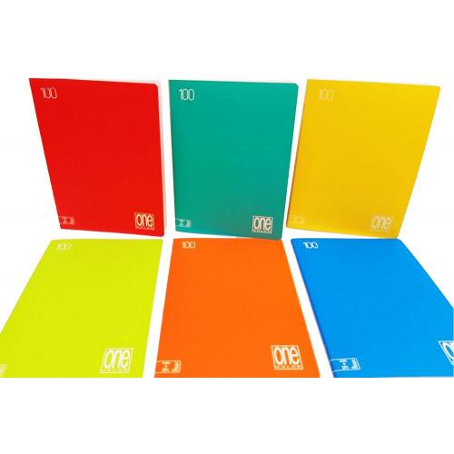 Maxi quaderno One Color 100g rigatura C
