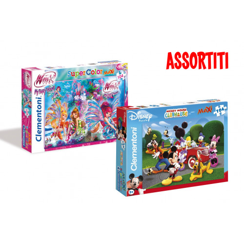 Puzzle Maxi 104 pz