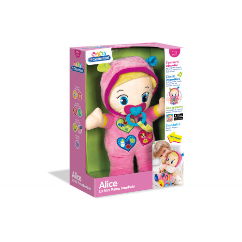 Alice la Mia Prima Bambola Baby Clementoni