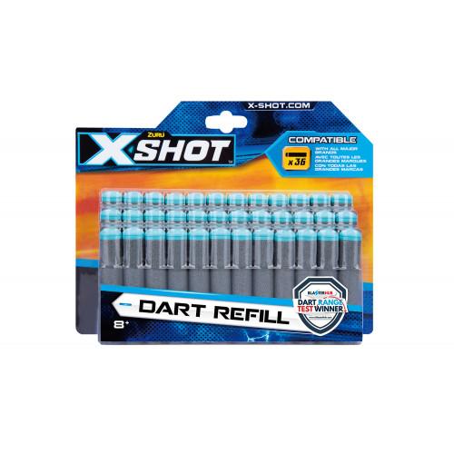 X-Shot Excel Dardi refill 36 pezzi