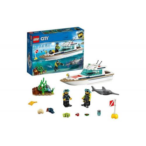 Lego City Yacht per Immersioni