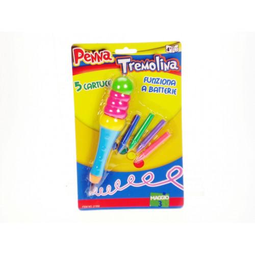 Penna Tremolina con 5 cartucce