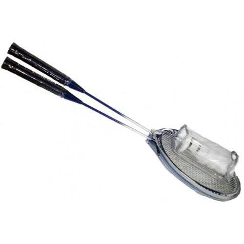 Racchette per Badminton e sacca con volani Kidz Corner