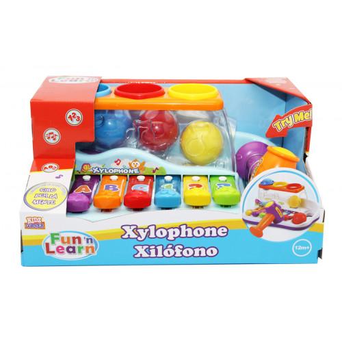 Xilofono con batti palline Kidz Corner