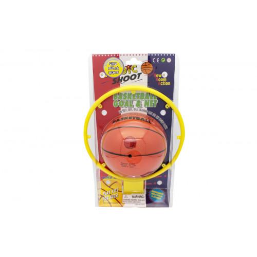 Basket anello con palla Kidz Corner
