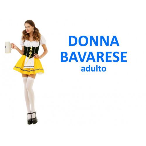 Donna bavarese costume adulto