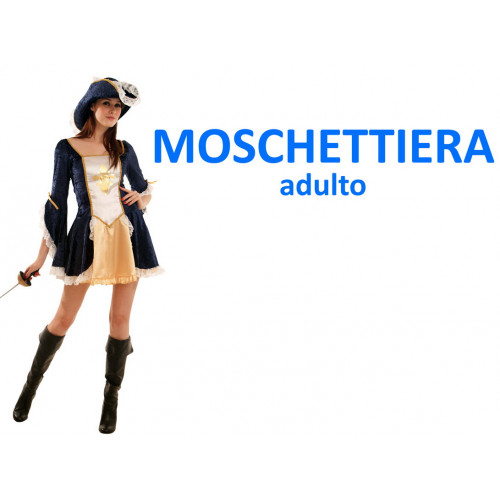 Moschettiera costume adulto