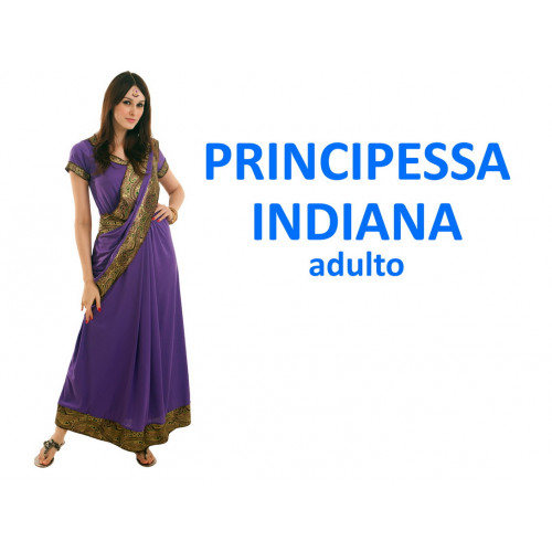 Principessa indiana costume adulto