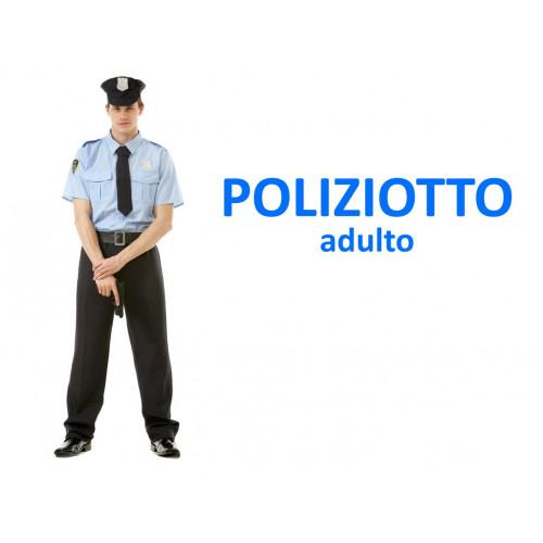 Poliziotto costume adulto