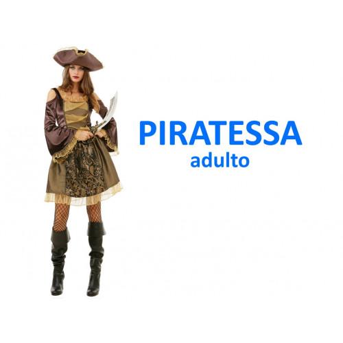 Piratessa costume adulto