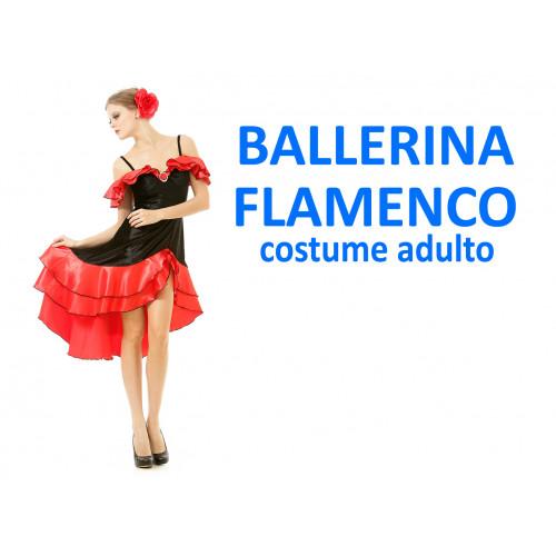 Ballerina di flamenco costume adulto
