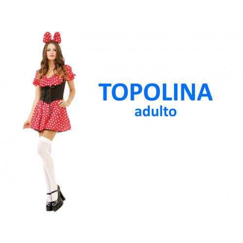 Topolina costume adulto