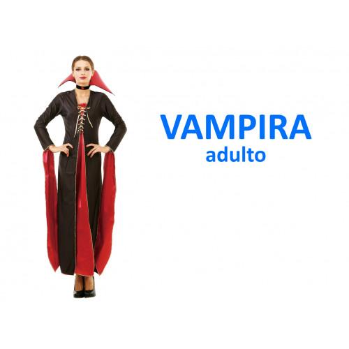 Vampira costume adulto