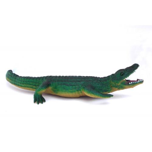 Coccodrillo in gomma 50 cm