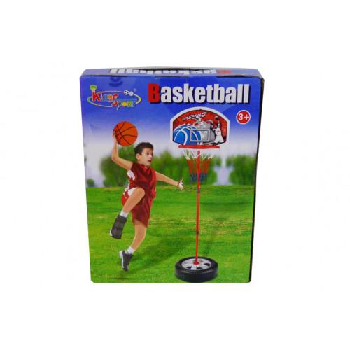 Basket con asta in metallo 120 cm