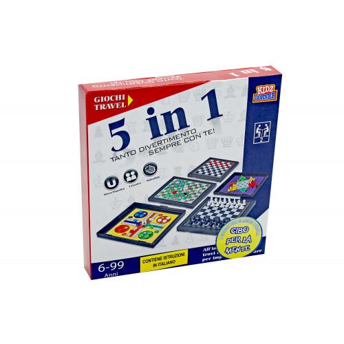 Giochi Travel Magnetici 5in1