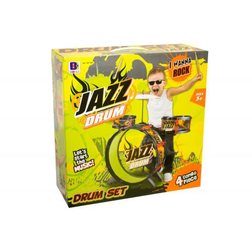 Batteria con sgabello Jazz Drum
