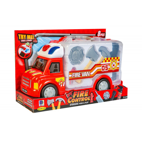 Camion dei pompieri luci e suoni