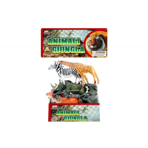 Animali della zoo 5 modelli