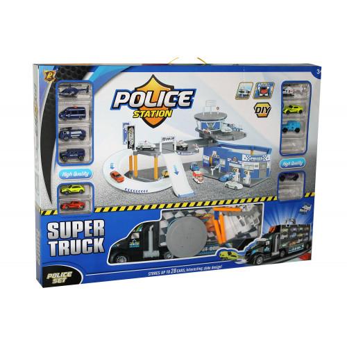 Stazione Garage Polizia Deluxe