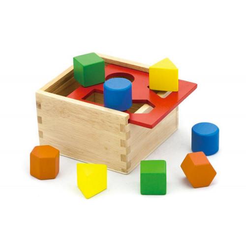 Il Cassetto Magico Box incastri 13pz legno