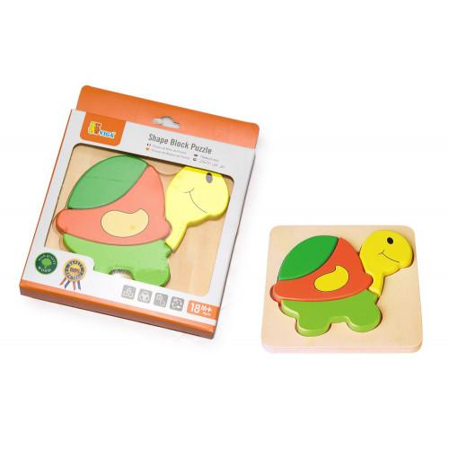 Puzzle Tartaruga in Legno