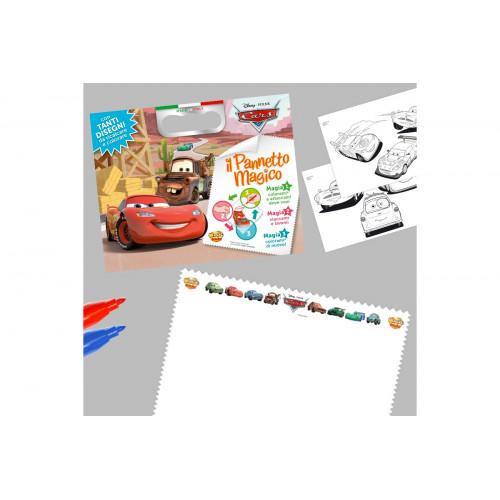 Pannetto magico con pennarelli Cars