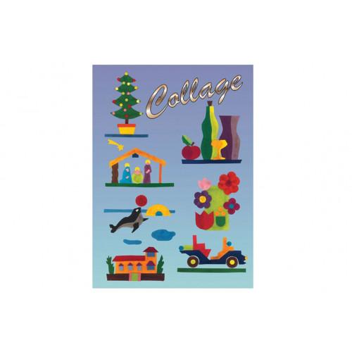 Album Collage 20 fogli Oro/Argento 34x48 cm Antes