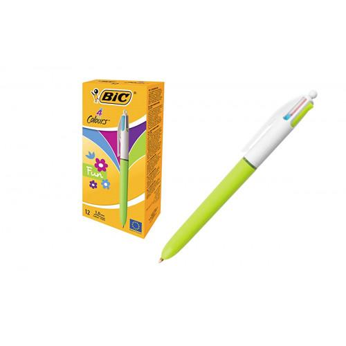 Bic 4 Colori Fashion 12 Penne