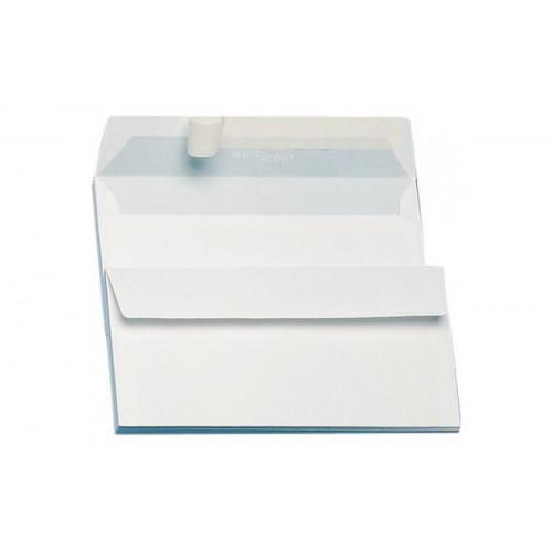 Busta bianca c/strip 11x23 senza finestra