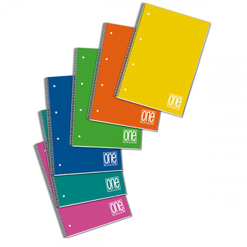 Maxi Quaderno Spiralato A4 1R 6 pezzi