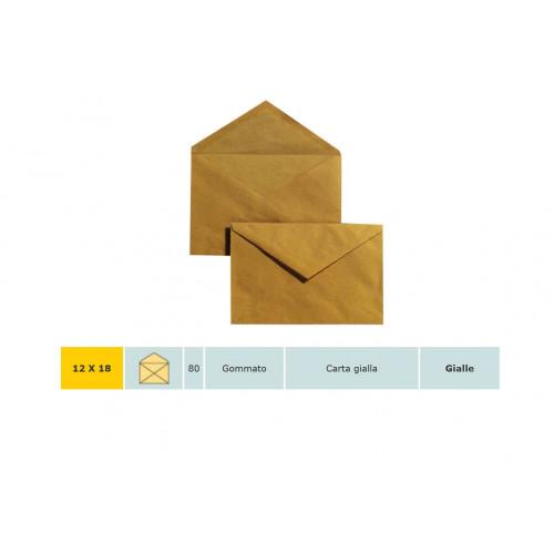 Busta blasetti 12x18 giallo posta cf.40